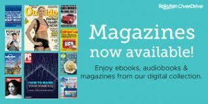 Link to Overdrive site for ebooks, audiobooks and digital magazines