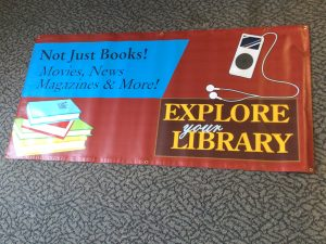explore your library banner