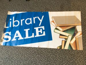 library sale banner